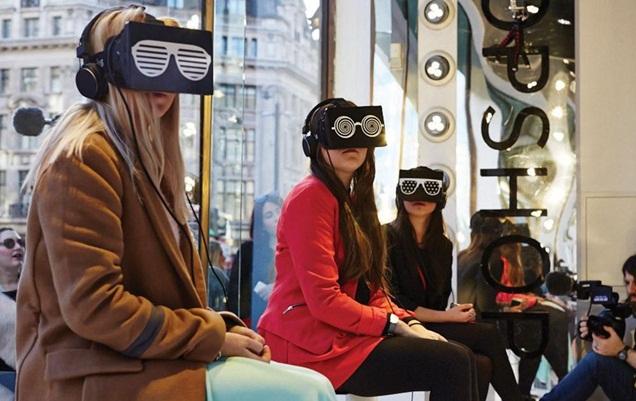 best window displays topshop 2014 london fashion week virtual reality 02